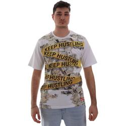 Oblačila Moški Majice s kratkimi rokavi Sprayground SP017S Biely