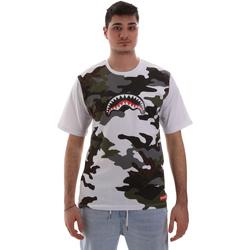 Oblačila Moški Majice s kratkimi rokavi Sprayground SP023S Biely