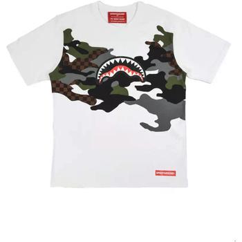 Oblačila Moški Majice s kratkimi rokavi Sprayground SP022S Biely
