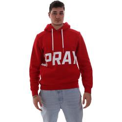 Oblačila Moški Puloverji Sprayground 19AISP006 Rdeča