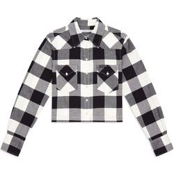 Oblačila Ženske Srajce & Bluze Calvin Klein Jeans J20J212123 Črna