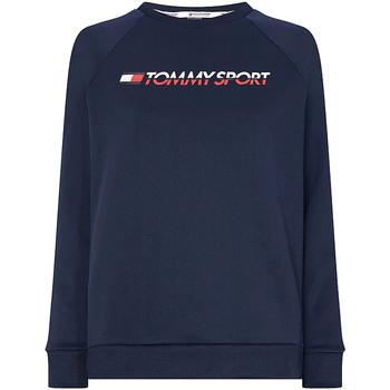 Oblačila Ženske Puloverji Tommy Hilfiger S10S100358 Modra