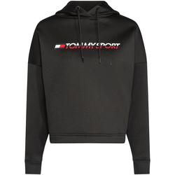 Oblačila Ženske Puloverji Tommy Hilfiger S10S100360 Črna