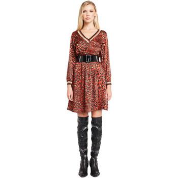 Oblačila Ženske Kratke obleke Denny Rose 921ND15008 Rdeča