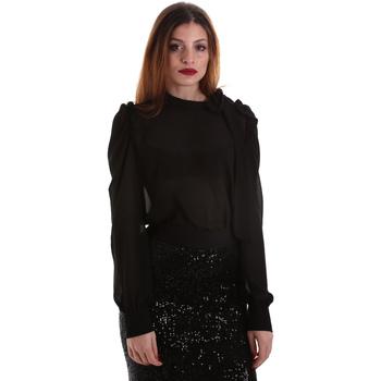 Oblačila Ženske Topi & Bluze Denny Rose 921ND45001 Črna
