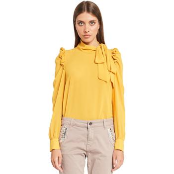 Oblačila Ženske Topi & Bluze Denny Rose 921ND45001 Rumena