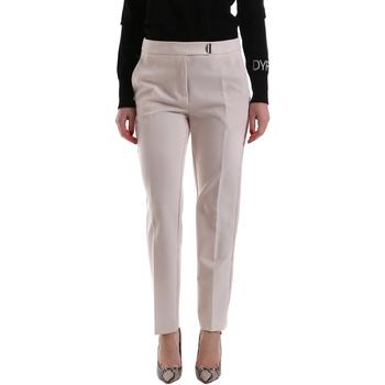 Oblačila Ženske Hlače Chino / Carrot Gaudi 921FD25001 Bež