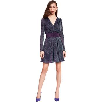 Oblačila Ženske Kratke obleke Gaudi 921FD14003 Modra