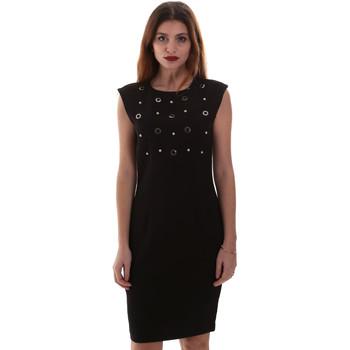 Oblačila Ženske Kratke obleke Gaudi 921FD15004 Črna