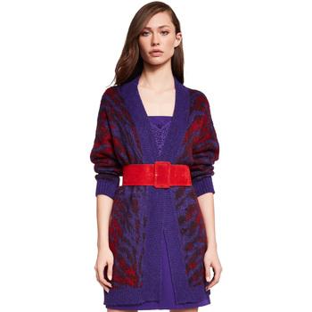 Oblačila Ženske Telovniki & Jope Gaudi 921FD53048 Vijolična