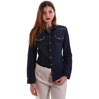 Oblačila Ženske Srajce & Bluze Gaudi 921BD46001 Modra