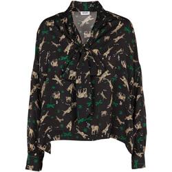 Oblačila Ženske Topi & Bluze Liu Jo W69040 T4031 Črna