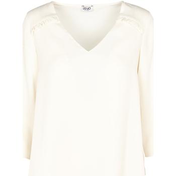 Oblačila Ženske Topi & Bluze Liu Jo W69064 T5630 Bež