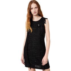 Oblačila Ženske Kratke obleke Liu Jo W69330 T4080 Črna