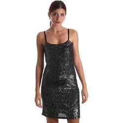 Oblačila Ženske Kratke obleke Liu Jo F69179 J5813 Črna
