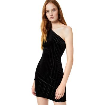 Oblačila Ženske Kratke obleke Liu Jo F69289 T4097 Črna
