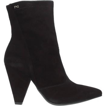 Čevlji  Ženske Gležnjarji NeroGiardini A909453DE Črna