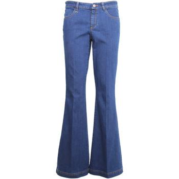 Oblačila Ženske Kavbojke bootcut NeroGiardini A960660D Modra
