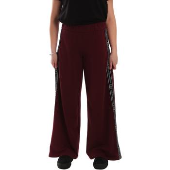 Oblačila Ženske Spodnji deli trenirke  Ea7 Emporio Armani 6GTP63 TJ31Z Rdeča