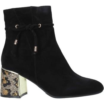 Čevlji  Ženske Gležnjarji Café Noir LA542 Črna