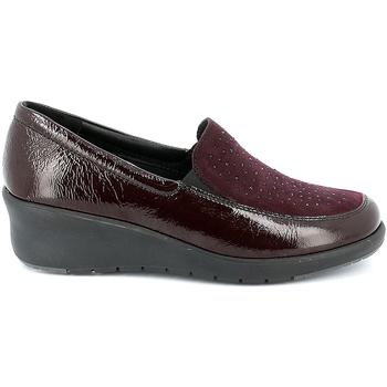 Čevlji  Ženske Mokasini Grunland SC4775 Rdeča