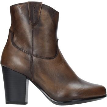 Čevlji  Ženske Gležnjarji The Flexx E8012_02 Rjav
