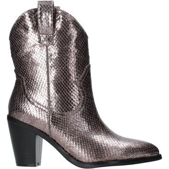 Čevlji  Ženske Gležnjarji Gold&gold B19 GU22 Siva
