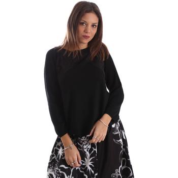 Oblačila Ženske Puloverji Fracomina FR19FP8117 Črna