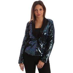 Oblačila Ženske Jakne & Blazerji Fracomina FR19FP622 Črna