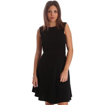 Oblačila Ženske Kratke obleke Fracomina FR19FP085 Črna