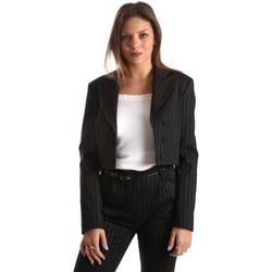 Oblačila Ženske Jakne & Blazerji Fracomina FR19FP066 Črna