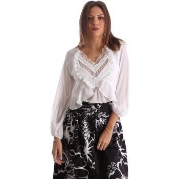 Oblačila Ženske Srajce & Bluze Fracomina FR19FMFLORRIE Biely