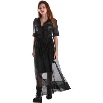 Oblačila Ženske Dolge obleke Fracomina FR19FM567 Črna