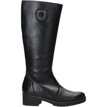 Čevlji  Ženske Mestni škornji    Susimoda 8956 Črna