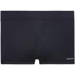 Oblačila Moški Kopalke / Kopalne hlače Calvin Klein Jeans KM0KM00418 Črna