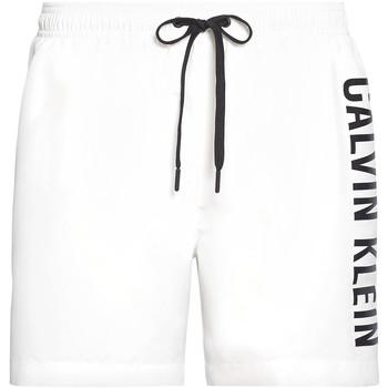 Oblačila Moški Kopalke / Kopalne hlače Calvin Klein Jeans KM0KM00452 Biely