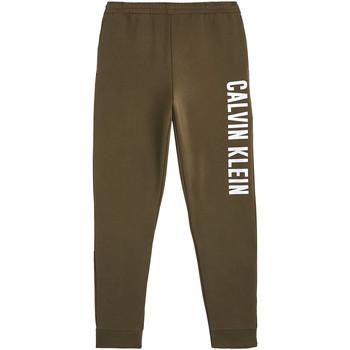 Oblačila Moški Spodnji deli trenirke  Calvin Klein Jeans 00GMH9P680 Zelena