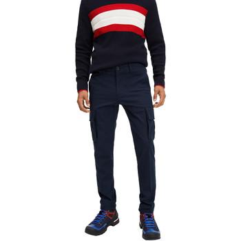 Oblačila Moški Hlače cargo Tommy Hilfiger MW0MW12593 Modra