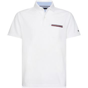 Oblačila Moški Polo majice kratki rokavi Tommy Hilfiger MW0MW13156 Biely
