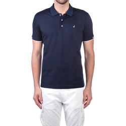 Oblačila Moški Polo majice kratki rokavi Navigare NV72058 Modra