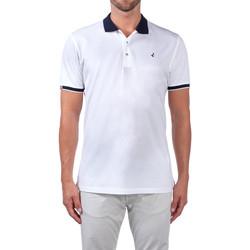 Oblačila Moški Polo majice kratki rokavi Navigare NV72058 Biely