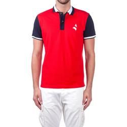 Oblačila Moški Polo majice kratki rokavi Navigare NV82115 Rdeča