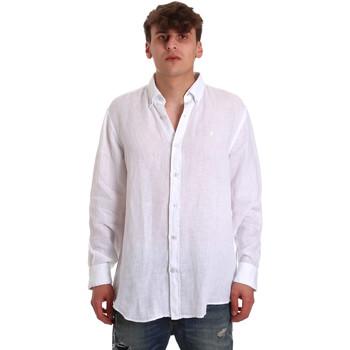 Oblačila Moški Srajce z dolgimi rokavi Navigare NV91108 Biely