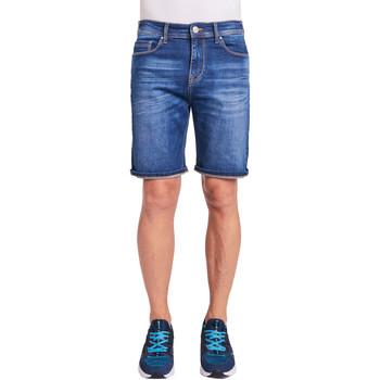 Oblačila Moški Kratke hlače & Bermuda Gaudi 011BU26009 Modra