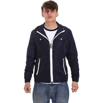 Oblačila Moški Jakne Gaudi 011BU35007 Modra