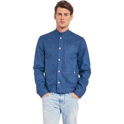 Oblačila Moški Jakne Gaudi 011BU38005 Modra