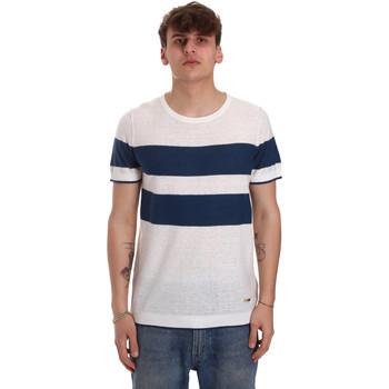 Oblačila Moški Majice s kratkimi rokavi Gaudi 011BU53023 Bež