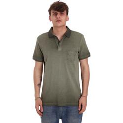 Oblačila Moški Polo majice kratki rokavi Gaudi 011BU64017 Zelena