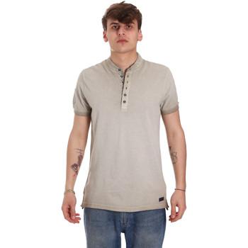 Oblačila Moški Polo majice kratki rokavi Gaudi 011BU64018 Bež