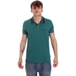 Oblačila Moški Polo majice kratki rokavi Gaudi 011BU64044 Zelena